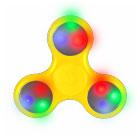 Hand Spinner lumineux LED Jaune