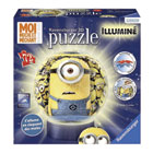 Puzzle 3D rond lumineux Minions