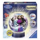 Puzzle 3D rond lumineux Reine des Neiges