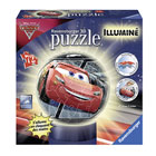Puzzle 3D rond lumineux Cars