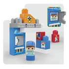 Mega Bloks-Coffret briques Police