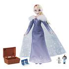 Reine des Neiges-Poupée Elsa Joyeux Noël avec Olaf