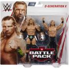 WWE-Coffret de 2 figurines de catch D-Generation X 15 cm