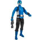 Power Rangers Beast Morphers-Figurine bleue 30 cm