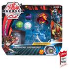 Figurines Bakugan Battle Planet Pack - Pyrus Maxotaur et Aquos Mantonoid