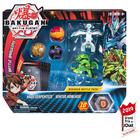 Figurines Bakugan Battle Planet Pack - Haos Serpenteze et Ventus Howlkor