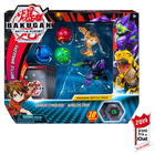 Figurines Bakugan Battle Planet Pack - Darkus Cyndeous et Aurelus Trox