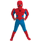 Panoplie Spiderman musclée 8/10 ans