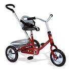 Tricycle en Métal Zooky Rouge et Gris