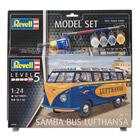 Maquette Bus Lufthansa avec peintures et accessoires