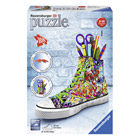 Puzzle 3D-Sneaker Girlygirl 108 pièces graffiti