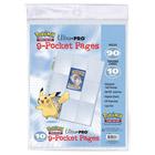 Paquet de 10 feuilles classeur cartes Pokemon