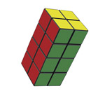 Rubik's tower advanced