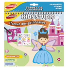 Carnet de coloriages princesses