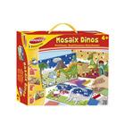 Coffret mosaïques dinosaures