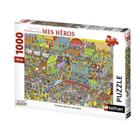 Puzzle 1000 pièces Charlie et les cow-boys