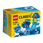 10706-Boîte de construction bleue