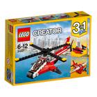 31057-L'hélicoptère rouge