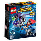 76068-Mighty Micros : Superman contre Bizarro