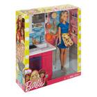 Poupée Barbie avec mobilier