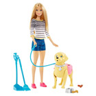 Barbie balade du chien