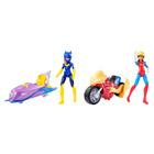 Figurine et véhicule DC Super Hero Girls