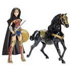 Wonder Woman - Poupée deluxe 30cm et cheval