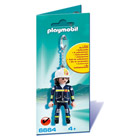 Porte-clés pompiers - Playmobil