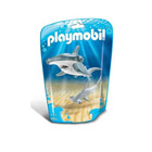 9065-Requin marteau et son petit - Playmobil Family fun