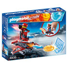 6835-Androïde de feu avec lance-disques - Playmobil Sport et action