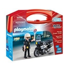 5648-Valisette Motard De Police - Playmobil City Action