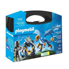 5657-Valisette Chevaliers Du Dragon - Playmobil Knights