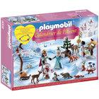9008-Calendrier de l'Avent famille royale en patins  - Playmobil Christmas