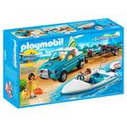 6864-Voiture avec bateau et moteur submersible - Playmobil Summer Fun