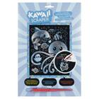 Carte à gratter Scraper Kawaii sous l'océan