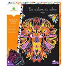 Les ateliers du calme-Scratch art mandalas