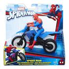 Spiderman - Figurine 15cm + Véhicule