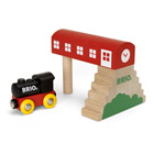 Brio-Garage tradition et locomotive