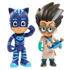 Coffret 2 figurines PyjaMasques