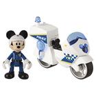 Moto Mickey policier