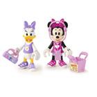 Figurines Disney Minnie et Daisy shopping