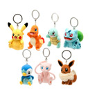 Pokémon-Assortiment porte clé Clip' N Plush
