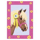 Numéro d'art mini cheval cocarde