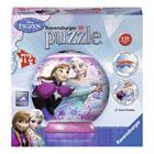 Puzzle 3D 72 pièces Reine des Neiges