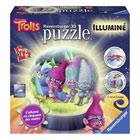 Puzzle 3D lumineux 72 pièces Trolls