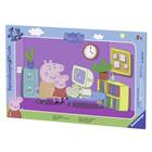 Peppa Pig-Puzzle cadre 15 pièces