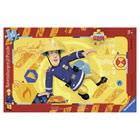 Sam le Pompier-Puzzle cadre 15 pièces