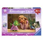 Disney Princesses-2 puzzles 24 pièces Raiponce