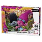 Trolls-Puzzle 60 pièces Poppy et Branch