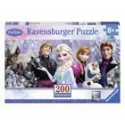 Puzzle maxi 200 pièces Reine des Neiges